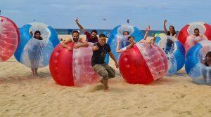 groepsuitje-bubbelbal